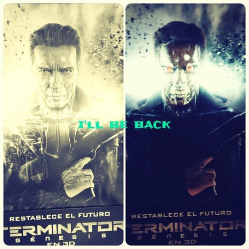 Terminator I'll Be Back Skynet Machines vs Humans Resistance