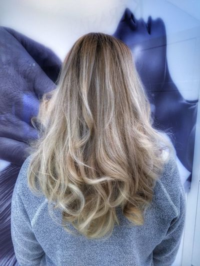 Блондинкаблондинку mywork Colorhair балаяж Color Hairstyle Blonde Girl Blond Redken Balayage