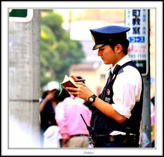 The Human Condition Japannes Police Policeman Police PoliceShooting PoliceBrutality Handsomepolic Handsome Man Hello World On Duty !