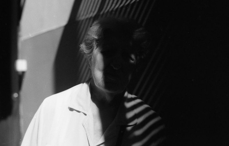 Stripes. Woman Black & White Photography Analogue Photograhy Noir Et Blanc Portraits BW_photography 35mm Film Photography Filmisalive Film Is Not Dead Film Noir Filmphotography EyeEmNewHere The Week On EyeEm Woman Portrait Light Looking At Camera Heads Stripes Stripes Pattern Outdoors Elder Elder Woman Sadness And Sorrow Melancholia Window Black And White Friday This Is Aging Visual Creativity Focus On The Story The Portraitist - 2018 EyeEm Awards HUAWEI Photo Award: After Dark International Women's Day 2019 The Art Of Street Photography My Best Photo