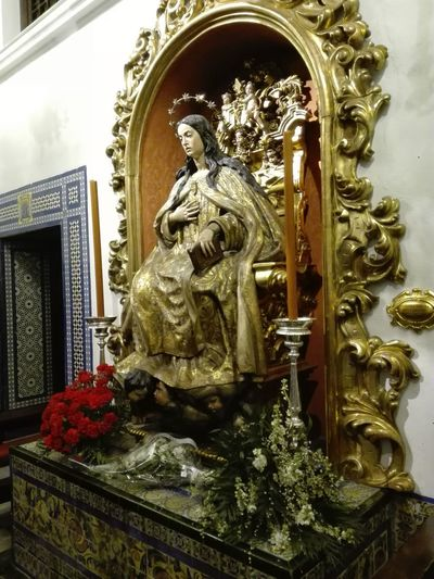 Iglesia del Museo, Sevilla Sculpture Statue Spirituality Religion Place Of Worship Human Representation Art And Craft Male Likeness Close-up Architecture