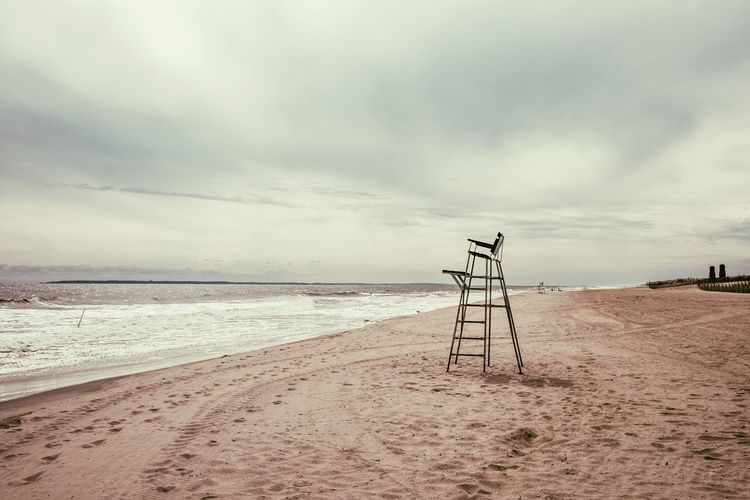 Season Is Over Life Is A Beach Empty Places Alone... Baywatch Lifeguard