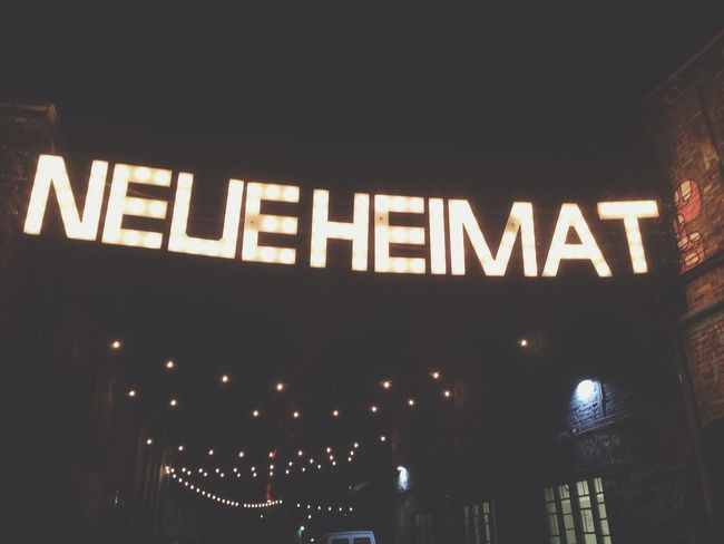 Christmas Market at Neue Heimat