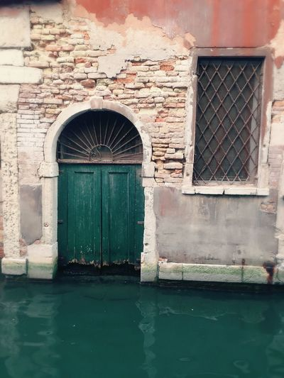 From My Point Of View Venice Door Window Architecture Built Structure Outdoors No People Water Daytime Photography Travel Destinations Italy Close-up Daylight Travel Photography