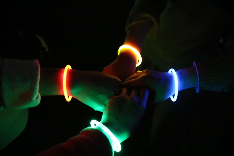 Black Background Close-up Human Hand Dark Illuminated Outdoors People Earth Hour 2017 Glowing In The Dark Glowsticks Earth Hour Colorful EyeEmNewHere Welcome To Black