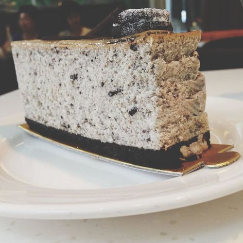 Cookies n cream Cheese cake Coffee And Cigarettes