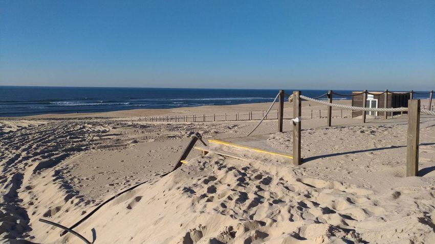 Sand Dune Water Sea Beach Sand Shadow Lifeguard  Summer FootPrint Clear Sky