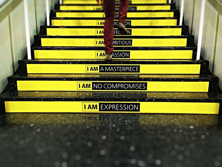 I am Tadaa Community Stairs Photokina Nikon