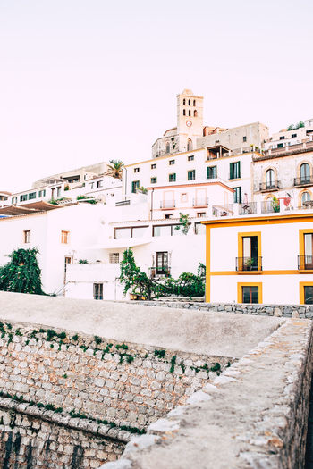 Old Town Old Ibiza Holidays Ibiza, Spain Architecture Building Building Exterior Built Structure City Day Low Angle View Outdoors Sky Town Wall - Building Feature Ancient TOWNSCAPE