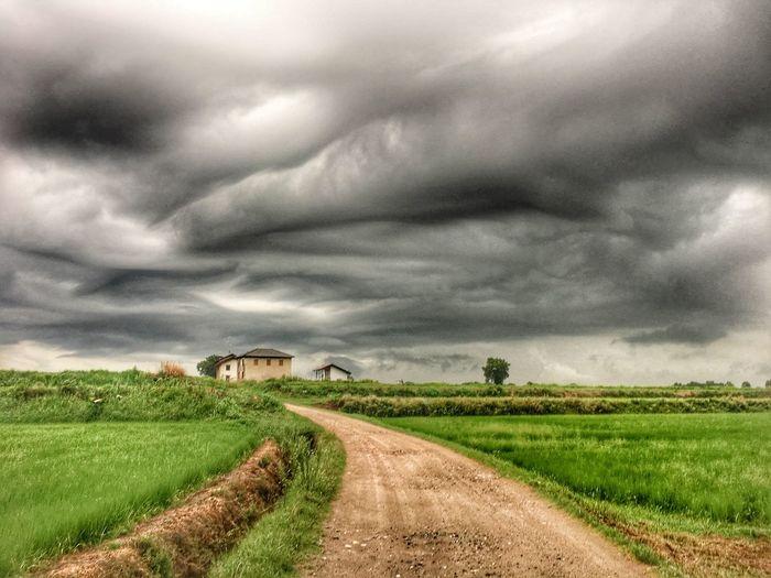Cloud - Sky Landscape Environment Sky Land Rural Scene Beauty In Nature