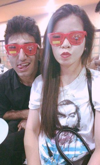 With Dear Friend Syed Hammergeil