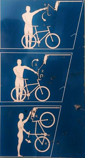 Bikespotting Bicycles Cyclesights Cykelställ Biking Signs Bicyclelife Traveling Finland Bytrain Train