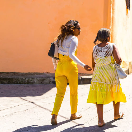 City Life Cityscape Clothes Cuba Collection People Photography Peoplephotography Same  Square Street Street Photography Streetphotography Yellow Yellow Color