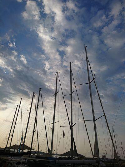 Cloud - Sky Sky Nautical Vessel Outdoors Sunset Sea No People Beach Silhouette Sailboat Day Scenics Nature Harbor Water Sailing Ship Tall Ship