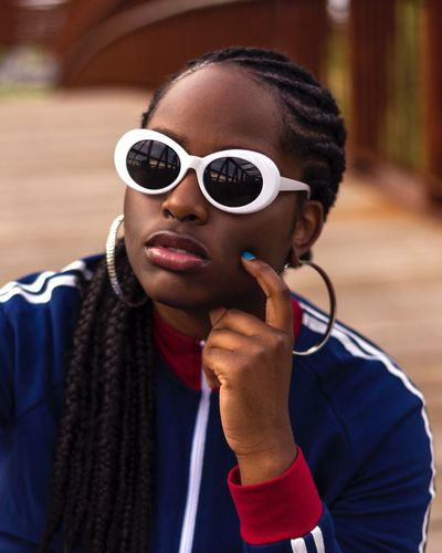 Can I kick it?? EyeEmNewHere Women Glasses Sunglasses One Person Real People Headshot Portrait Fashion