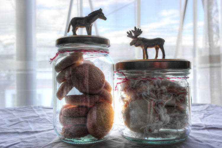 Animal Themes Close-up Cookies Day Homemade Sweets Indoors  Jar Mammal No People Sea Horse Table