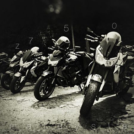 Hanging Out Riding Superbikes Z750  Malaysia