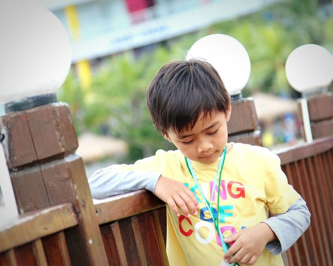 EyeEm Selects Boys Child Males  Childhood People Children Only Two People Outdoors Leisure Activity Holding Day Adult MySON♥ Ezzra Close-up One Boy Only Relaxation