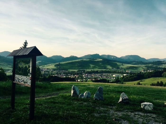 #summer #slovakia #nature #mountain #landscape Mountain Sky Nature Grass Outdoors Field Beauty In Nature Landscape