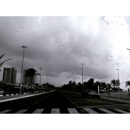 Aracaju Beginningoftheday Drizzle Crosswalk Cloudy Sky Down