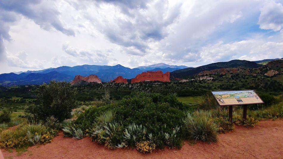 Mountain Tree Cloud - Sky Outdoors Day Mountain Range Landscape No People Sky Nature