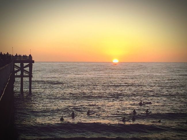 Beachphotography Surfing California Love California Sandiego Pier Sunset_collection Beach Life Paradise Colors Sky_collection Taking Photos Landscape_photography Beautiful Nature
