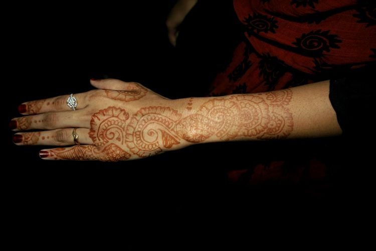 Henna Tattoo Beautiful Henna Tattoo Henna Art Lady Beautiful Hand Sister ❤ Islamic Woman Muslim Girl