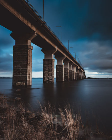 Architecture Bridge - Man Made Structure Built Structure Cloud - Sky Connection Day Horizon Over Water Nature No People Outdoors Sea Sky Underneath Water