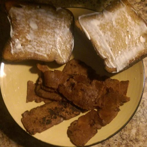 Baconseitan Uptonsnaturals EnerGfoods EnerGbread vegenaise from @fyhproducts