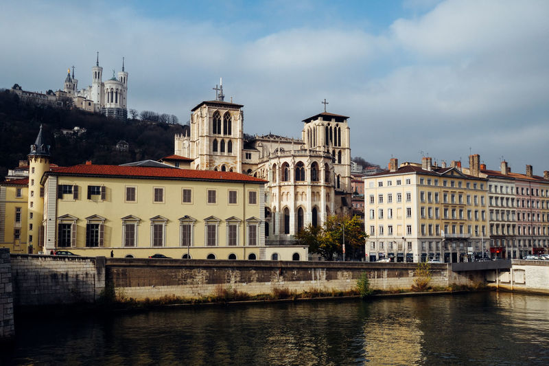 Architecture Building Exterior Built Structure Church Churches City Cloud - Sky Day Landscape Nature No People Outdoors River Sky Town Travel Destinations Water Waterfront