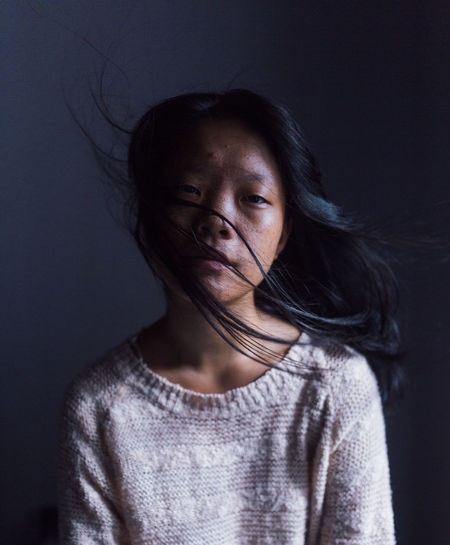 Dreamy EyeEm Best Shots Indoors  Long Hair Portrait Portrait Of A Woman Surrealism The Portraitist - 2017 EyeEm Awards Young Women BYOPaper! International Women's Day 2019