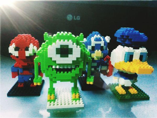 Awesome Monstersinc Captain America Spiderman