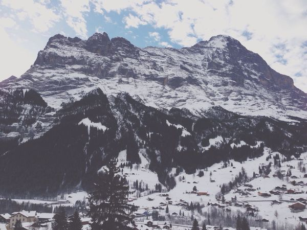 Happy Sunday! Switzerland Mountains Eiger