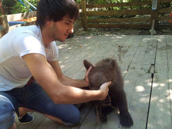мой медвежонок !!!