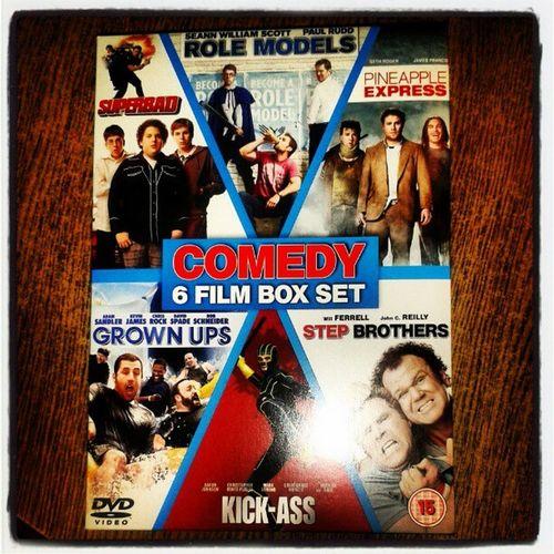 next few days sorted Boxset Hmv Sale comedy willferrell adamsandler funny superbad rolemodels pineappleexpress grownups kickass stepbrothers moviemarathon lazydays