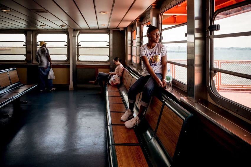 Staten Island Ferry, 2016 New York New York City Streetphotography Street Photography Environmental Portrait