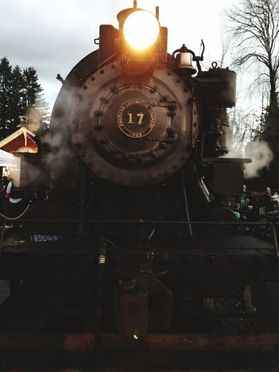 Steam Train Rail Transportation Locomotive Outdoors Washington State Polarexpress Transportation Public Transportation Mode Of Transport The Traveler - 2018 EyeEm Awards