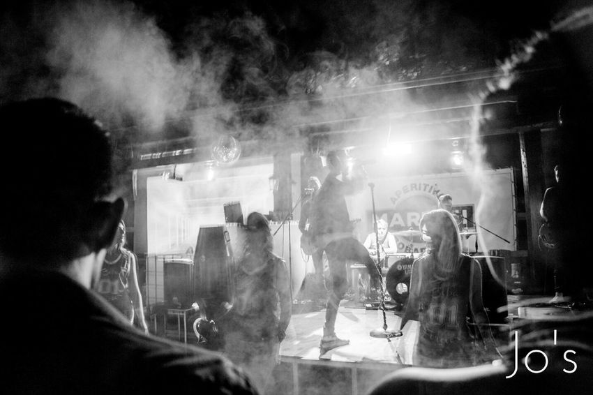 Move like Jagger Enjoying Life Italy Blackandwhite Live Music On The Road Smoke Foamparty Funtime Sillouette For The Love Of Music