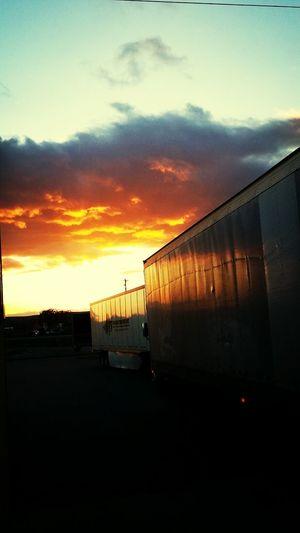 Ontario Oregon Sunset