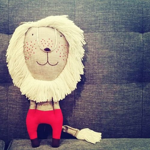 Eli's first stuffed animal ? Cutestuffedanimal Babytoys