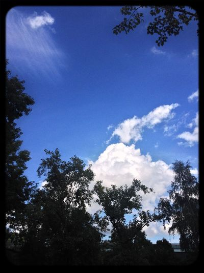 Bluesky Clouds And Sky Summer