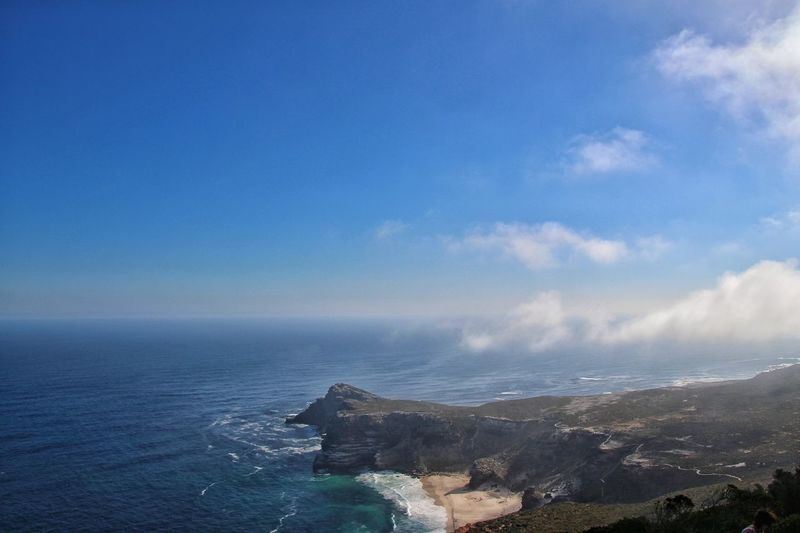 Sea Outdoors Horizon Over Water Cloud - Sky No People Blue Sky Day Beach Water Architecture Beauty In Nature City Nature Scenics Cityscape Building Exterior South Africa Cape Town Cape Town, South Africa Cape Of Good Hope