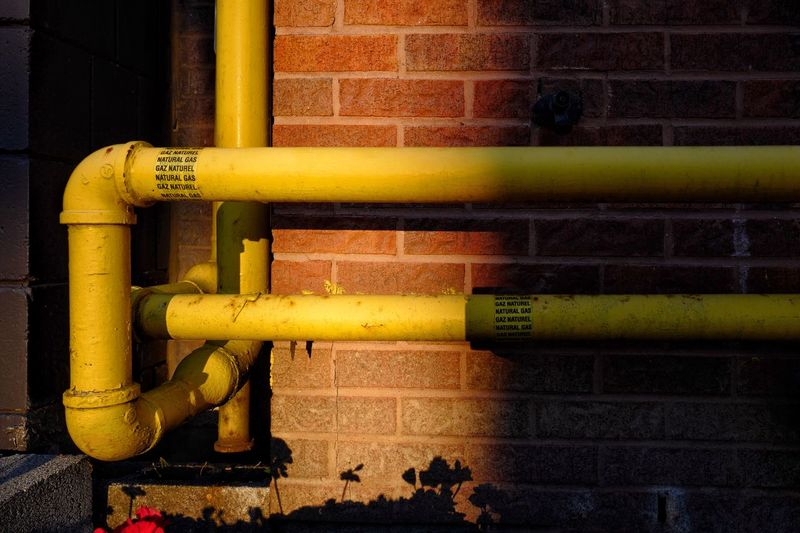 Dimensions Topology Still Life Pipeline Pipes Pipe Rust Gas Naturalgas Gas Pipeline Gas Pipes Day Pipe - Tube Yellow Metal No People Close-up Pipeline Connection Pipe Sunlight