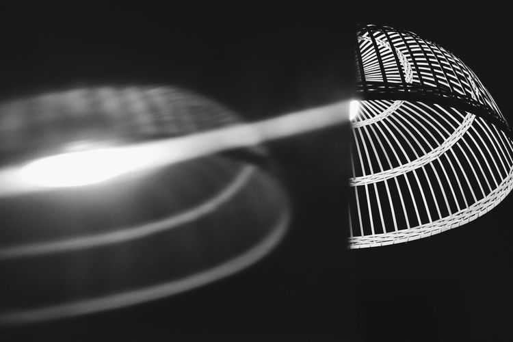 Distorted light. Light And Shadow Abstract