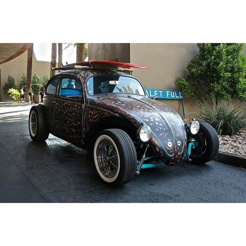 VW HotRod Beetle Rockabilly RatRod Greaser Ratfink Rockabillyweekend Rockabillyweekender