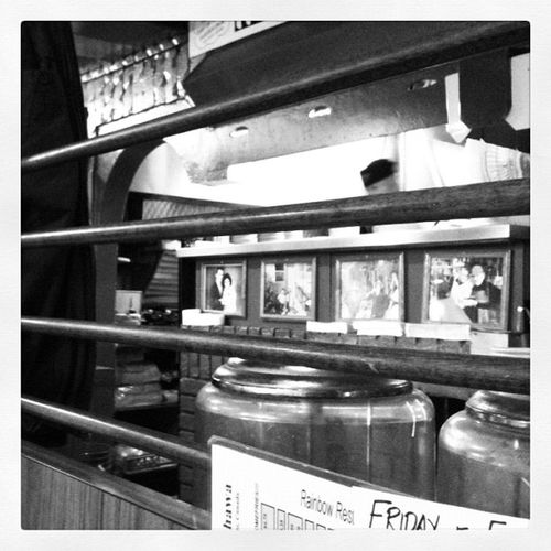 Yes Chef! Diner brekky no.3 Blackandwhite Iphoneonly Oshawa 3GS rainbowrestaurant