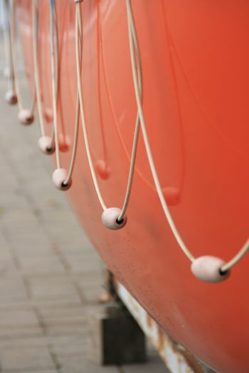 Orange Portside Loops Floats