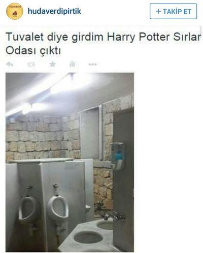 Harrypotter Toilet Caps Tuvalet Matrak çokgüldümamk