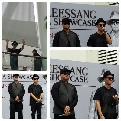Leessang fanmeet at City Square! @gaegun cr: @cindiies Leessang KangGary Gil Singapore fanmeet