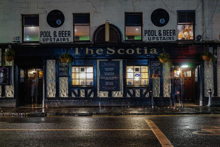 Scotia Bar Glasgow  Scotland Travel Travelphotography Streetphotography Pub Uk Great Britain Longexposure Langzeitbelichtung